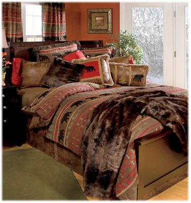 comforters bed bedding pinterest log images country rustic on best sets