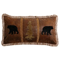 Bob Timberlake Blowing Rock Bedding Collection Bear Pine Tree Pillow