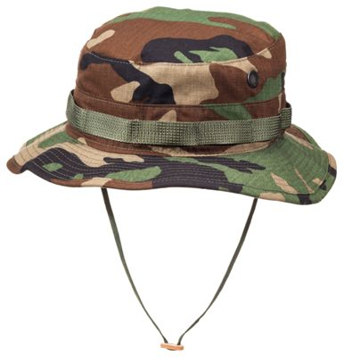 4a08f13f0 Propper Tactical Boonie Hat for Men Woodland Camo 7 14