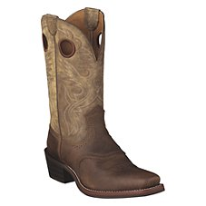 Ariat Heritage Roughstock Square Toe Western Boots for Men