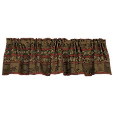 Cascade Lodge Collection Rod Pocket Valance