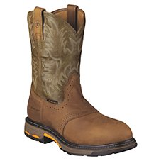 Ariat Workhog Safety Toe Pull-On Work Boots for Men
