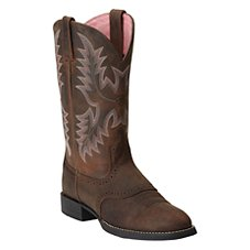 Ariat Heritage Stockman Western Boots for Ladies