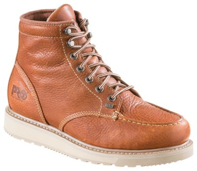 5b4969bfddb6 Timberland PRO Barstow Wedge Work Boots for Men Rust 12 W