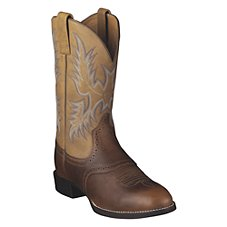 Ariat Heritage Stockman Western Boots for Men