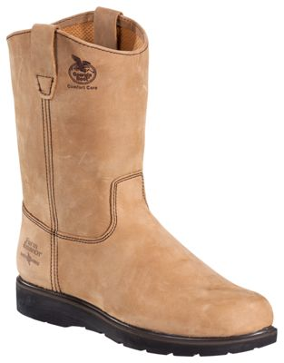 e9c37a8c51801 ...  164.99 Enjoy superior durability and comfort from aong wearing  Wellington work boot with the Farm and Ranch Comfort Core Wellington from Georgia  Boot.
