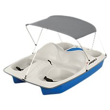 Sun Dolphin 5-Seat Pedal Boat with Canopy