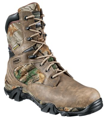 b3821f2e6b8 Wolverine Osage Scout 8'' Waterproof Insulated Side Zip Realtree ...