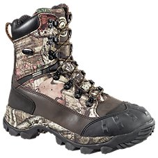 Irish Setter Grizzly Tracker 9'' Waterproof Insulated Brown/Mossy Oak Break-Up Infinity Hunting Boots for Men