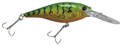Berkley Flicker Shad Crankbait - 2'' - Slick Firetiger