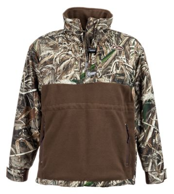 Drake Waterfowl Systems Lady Drake MST Eqwader Plus 1/4-Zip Pullover for Ladies – Realtree MAX-5 – L