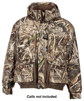 Drake Waterfowl Systems LST Waterfowler's 2.0 Insulated Jacket for Men – Realtree Max-5 – S