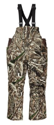 Drake Waterfowl Systems LST Insulated Bibs for Youth – Realtree Max-5 – 8