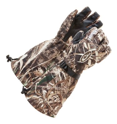 Drake Waterfowl Systems Double Duty Decoy Gloves for Men - Realtree Max-5 - M