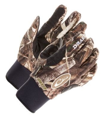 Drake Waterfowl Systems EST Refuge Gloves for Men - Realtree Max-5 - XL