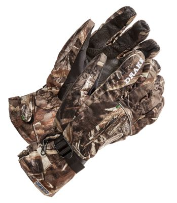 Drake Waterfowl Systems LST Refuge Gloves for Men - Realtree Max-5 - XL