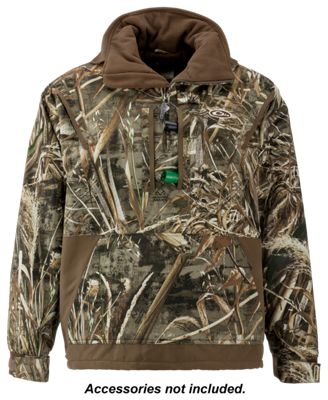 Drake Waterfowl Systems MST Fleece-Lined Pullover 2.0 for Men – Realtree Max-5 – M