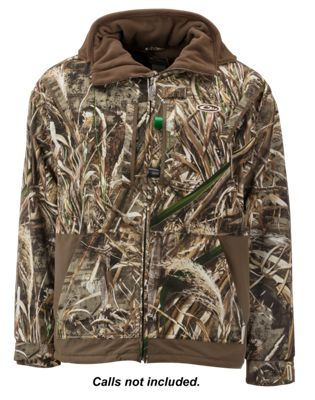 f479e4e8ee0f2 Drake Waterfowl Systems MST Waterfowl Fleece Lined Full Zip 20 Jacket for  Men Realtree Max 5 XL