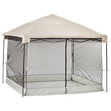 Screen Room for Bass Pro Shops Straight Leg Canopies