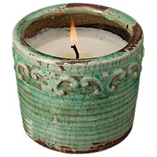 Swan Creek Candle Company Vintage Round Pot Soy Candle - Citrus/Sage
