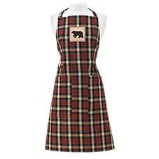 Park Designs Concord Bear Patch Apron