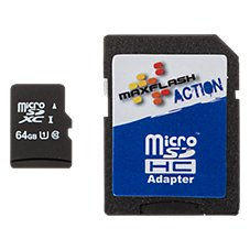 Prime Memory Solutions Maxflash Action MicroSD Cards