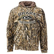 Drake Waterfowl Systems Embroidered Camo Hoodie for Men
