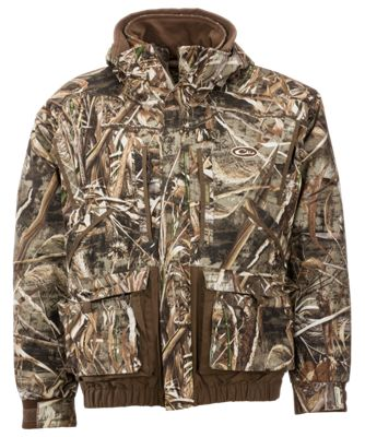 Drake Waterfowl Systems LST Eqwader 3-in-1 Plus 2 Wader Coat 2.0 for Men – Realtree Max-5 – 3XL