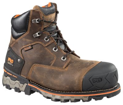 Timberland Pro Boondock 6 Waterproof Safety Toe Work Boots For Men Bass Pro Shops