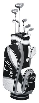 Callaway Solaire Gems 8 Piece Complete Golf Club Set For Ladies
