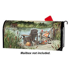 Magnet Works MailWraps Magnetic Mailbox Cover - ''Lakeside'' by Susan Winget