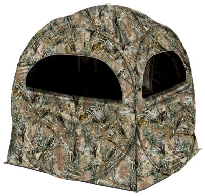 blind with backpack blinds mossy cover backpacktentwithghilliecover ghillie ground hunting