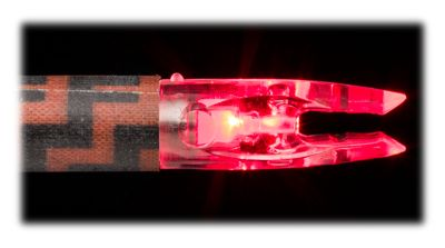AMS Bowfishing H2Glo Lighted Nocks - Red thumbnail