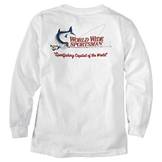 World Wide Sportsman Logo Long-Sleeve T-Shirt for Youth