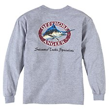 Offshore Angler Logo Long-Sleeve T-Shirt for Youth