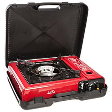 Texsport Portable Butane Stove with Carrying Case