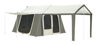 Kodiak Canvas 6-Person Cabin Tent with Deluxe Awning