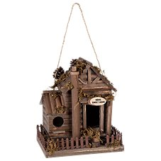 Sunset Vista Designs Home Sweet Home Wooden Birdhouse