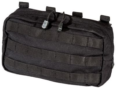511 Tactical 106 Horizontal Pouch Black