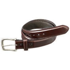 RedHead 1-3/8'' Leather Double Stitch Belt for Men