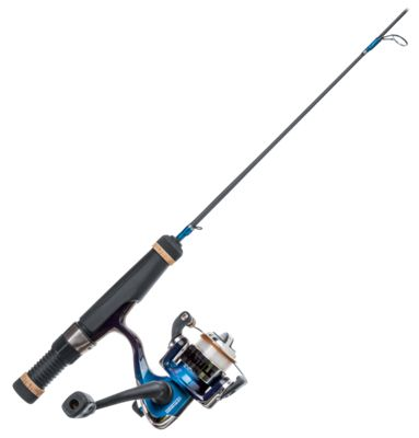 Frabill Panfish Popper Ice Fishing Spinning Combo - 30'' Deadstick