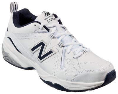 en stock 8d4b2 2fe8a New Balance 608v4 Training Shoes for Men - White - Medium - 9.5