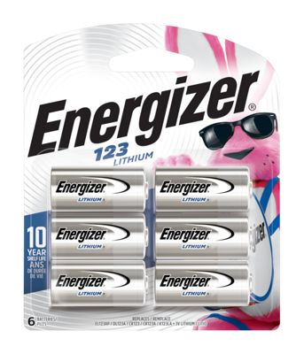 Energizer 123 3v Lithium Batteries 6 Pack Bass Pro Shops