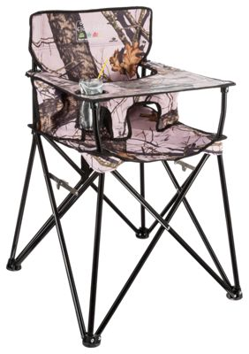 Ciao! Baby Portable High Chair Mossy Oak Break Up Infinity Pink