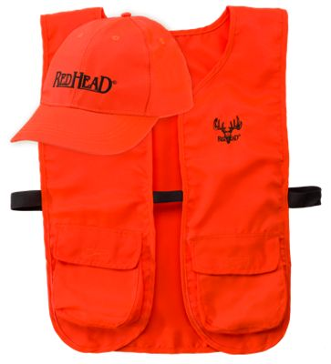 RedHead Blaze Cap and Vest Combo for Men