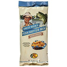Uncle Buck's Light 'n Krispy Fish Batter Mix - Original