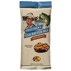 Uncle Buck's Beer Batter Mix - Lightly Seasoned