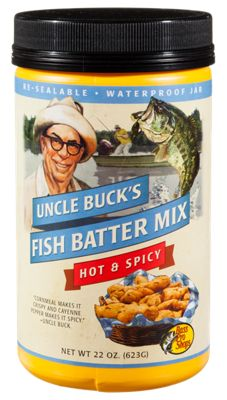 Uncle Buck's Fish Batter Mix - Hot & Spicy