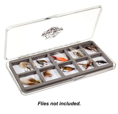 White River Fly Shop Riseform Clear Fly Box Large Foam