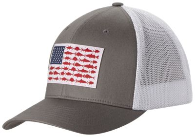 columbia pfg fish flag mesh ball cap for men bass pro shops